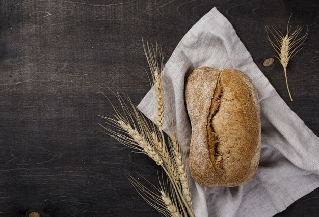 bread with grains wheat cloth 23 2148432266